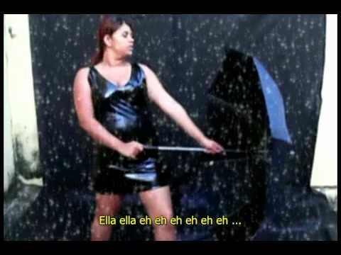 Le clip de Umbrella par Rihanna à petit budget