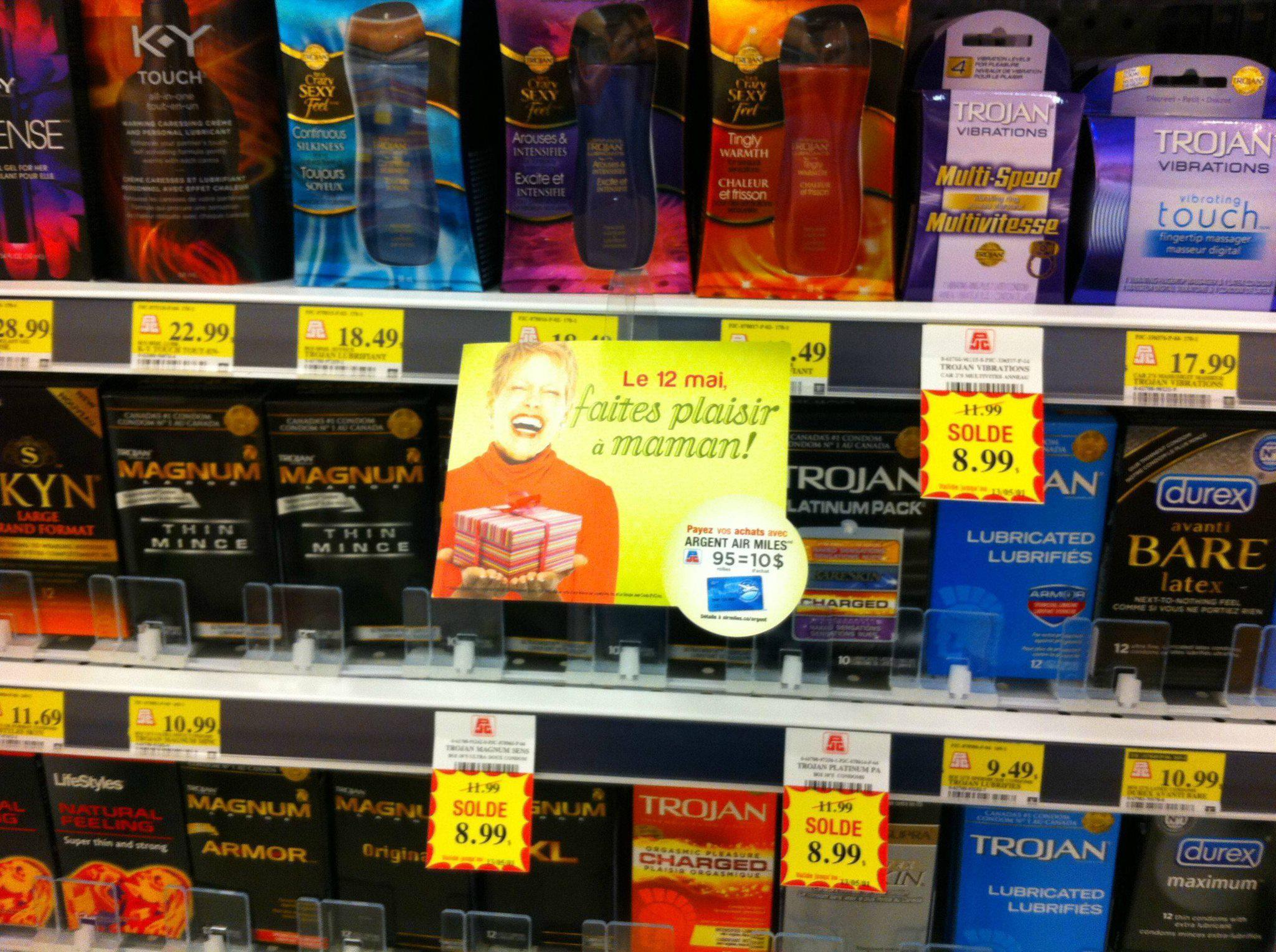Si tu n'as pas encore de cadeau pour ta top maman, cette pharmacie te fait une «bonne» suggestion