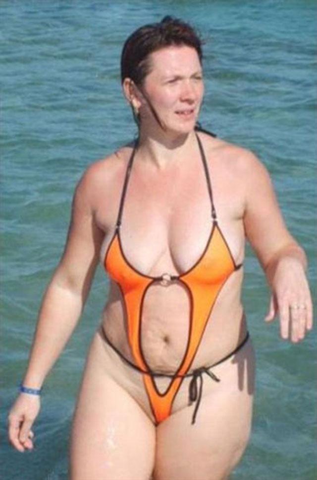 фото женщин за 40 в купальнике