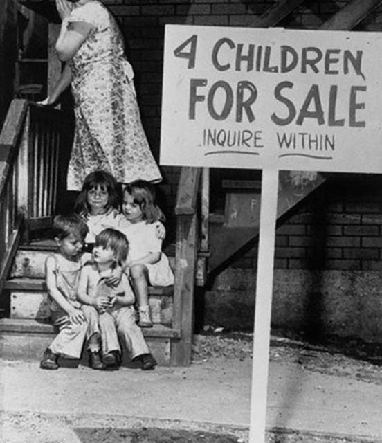 photos-historiques-maman-vends-ses-enfants-1948