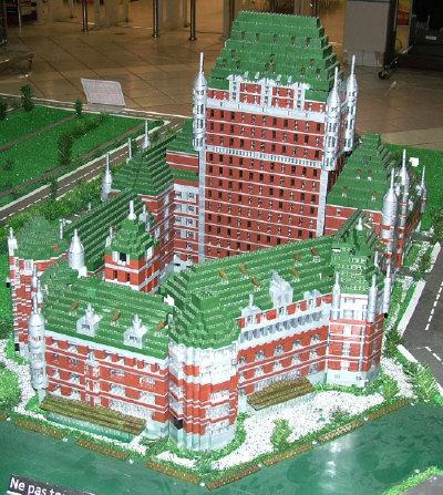 Chateau_Frontenac_Lego