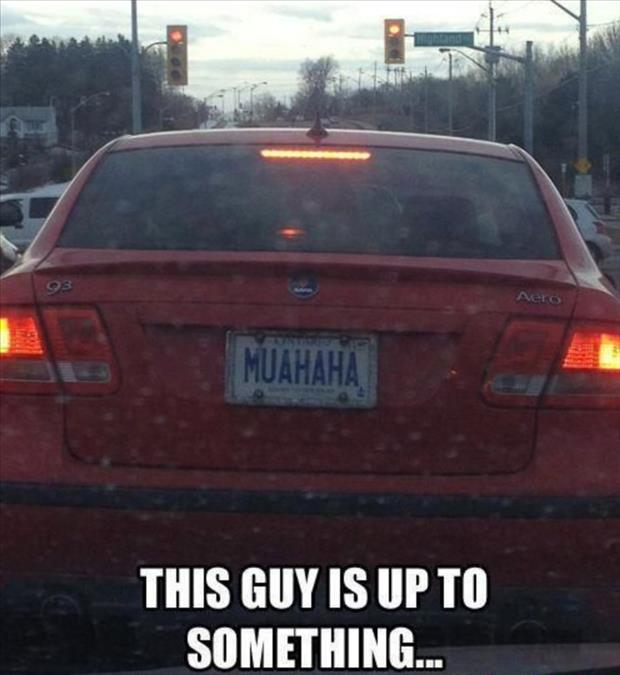 Funny License Plates - 13