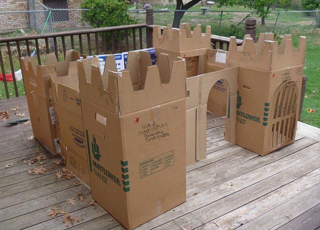 cardboard-castle