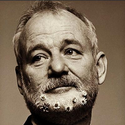 Bill-Murray-Flower-Beard-likedyourrphoto