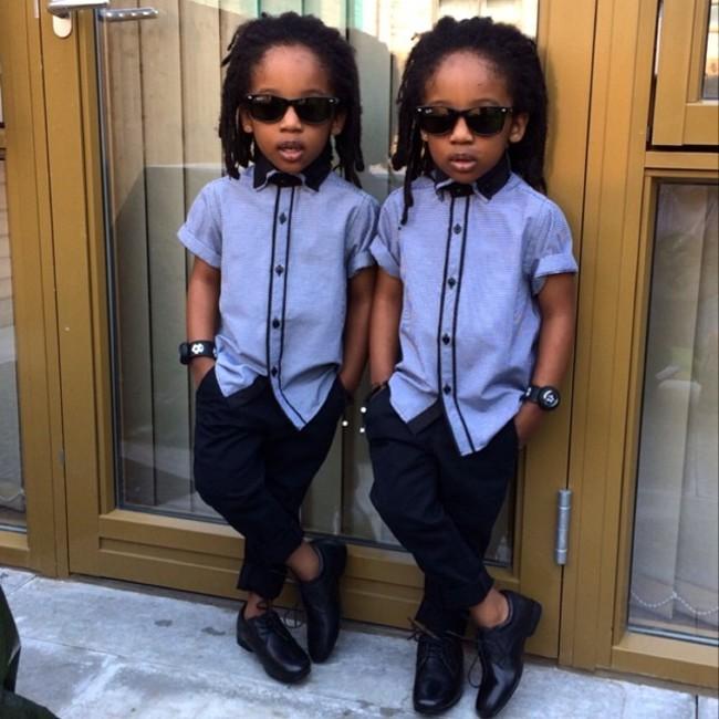 Les Jumeaux Les Plus Styl 233 S Et Cute D Instagram Petit