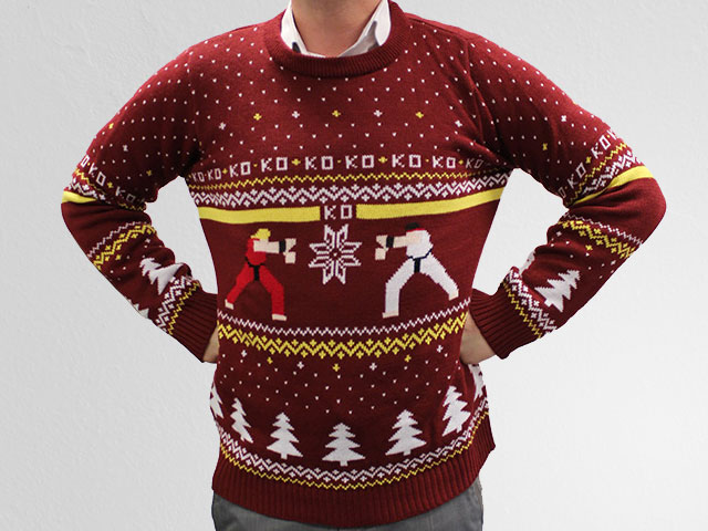 Street-Fighter-christmas-sweater-01