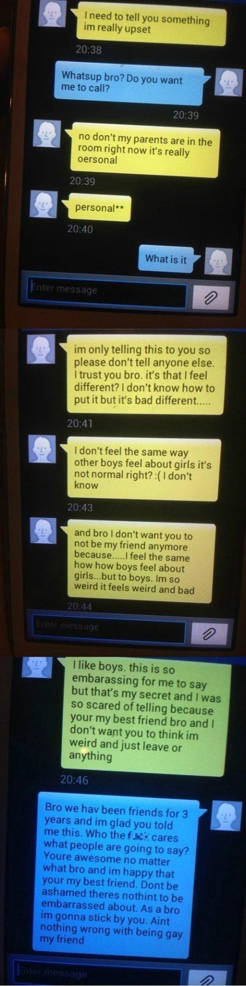 Flirter par message texte
