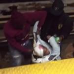 Trois hommes sauvent une femme étendue sur les rails de la station de métro Jarry à Montréal (vidéo)