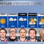 Un bulletin météo à saveur des Canadiens de Montréal