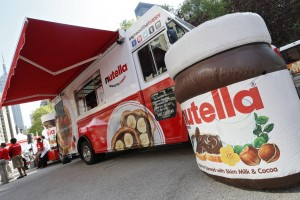 A general view of atmosphere is seen at Nutella's 50th Anniversary  and Truck Tour launch on May 19, 2014 in New York City. (Brian Ach/AP Images for Nutella)