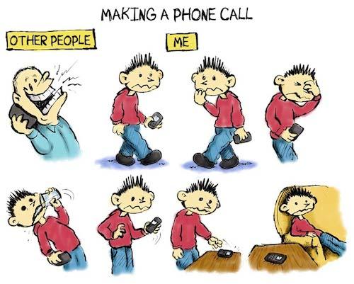phone anxiety disorder