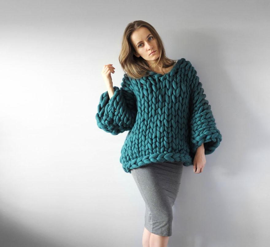 tu peux d sormais faire du tricot g ant petit petit. Black Bedroom Furniture Sets. Home Design Ideas