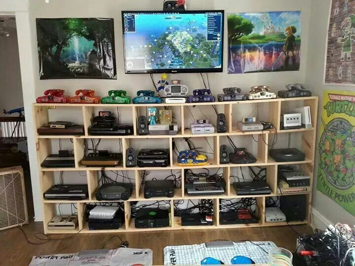 small attic bedroom storage ideas - Des chambres parfaites pour les mordus de jeux vidéo