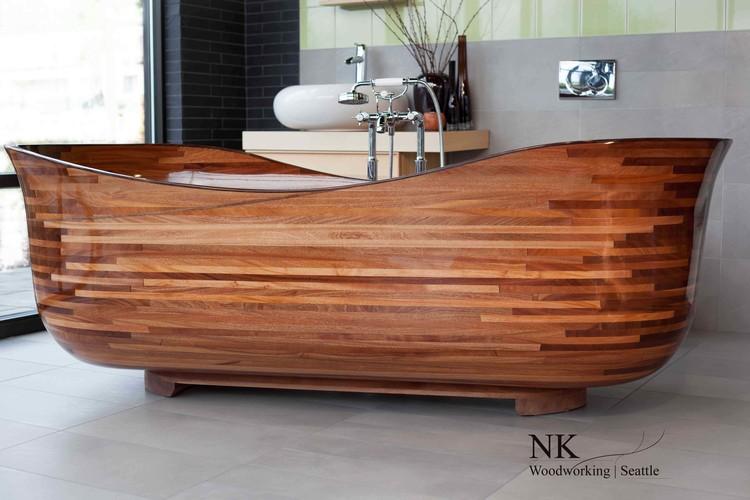 Aimerais-tu prendre un bain dans une baignoire en bois? - Petit ...