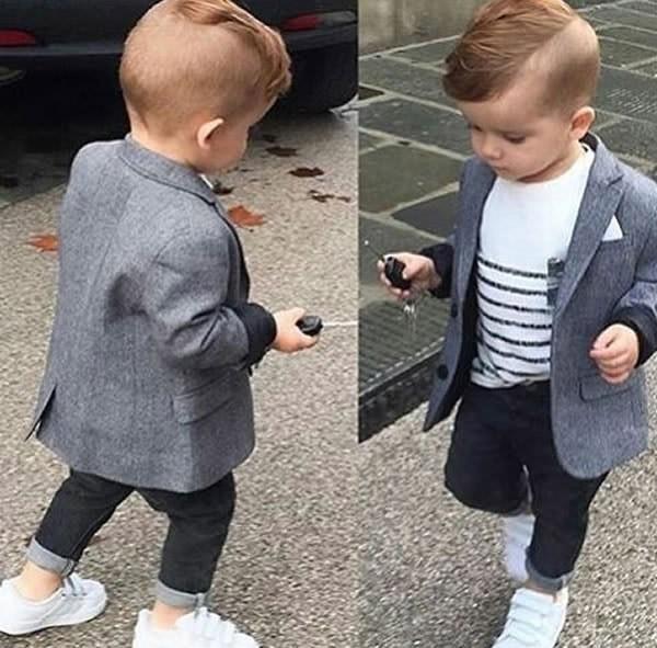 Célèbre Des petits garçons qui ont beaucoup trop de style - Petit Petit  SN67