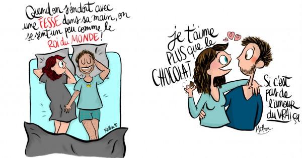 25 Illustrations Très Drôles Sur La Vie De Couple Petit