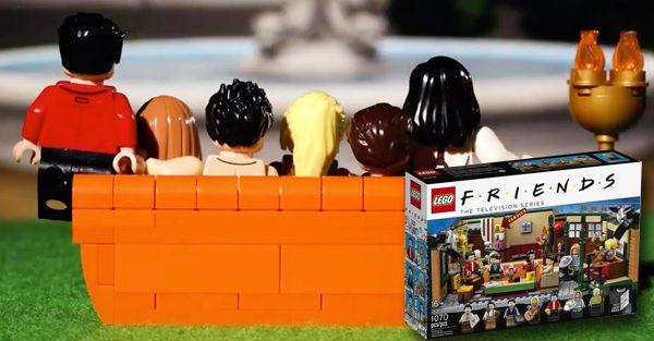 Lego lance un coffret pour les fans de la série Friends