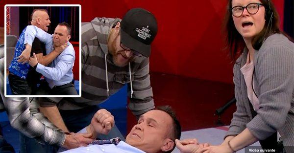 J'en reviens pas que certaines personnes croient que Dave Morissette s'est fait battre en direct à TVA