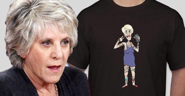 L'humoriste Alex Roof a fait des chandails pour rire de Denise Bombardier