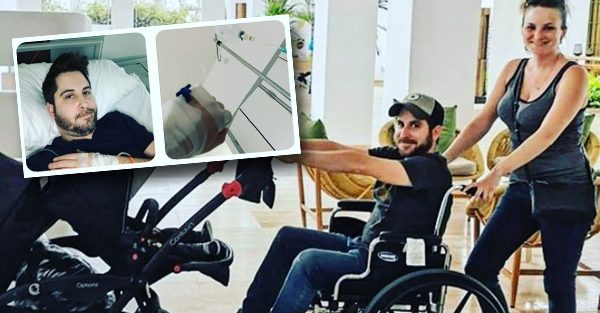 L'humoriste Billy Tellier a fini son voyage en chaise roulante en République Dominicaine