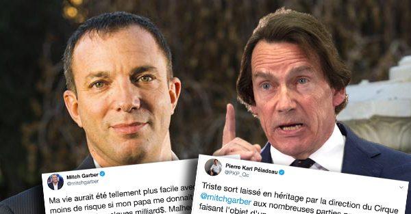 C'est la guerre d'insultes entre Pierre Karl Péladeau et l'homme d'affaires Mitch Garber