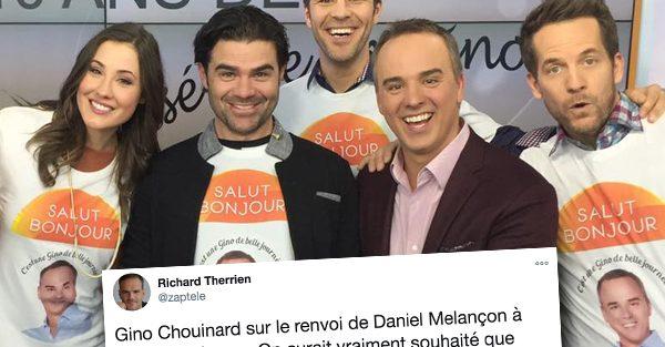 Gino Chouinard a commenté ce matin à Salut Bonjour le congédiement de Daniel Melançon