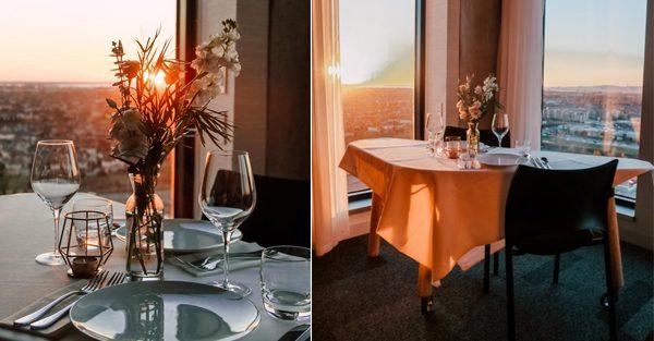 Plusieurs hôteliers offrent l'option restaurant en transformant leurs chambres en salle à manger privé