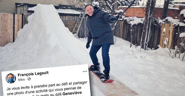 François Legault lance un défi à Véronique Cloutier, Mitsou et Geneviève Guilbault