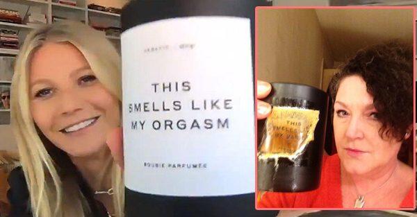 Une chandelle qui sent le vagin de Gwyneth Paltrow a explosé dans le salon d'une femme