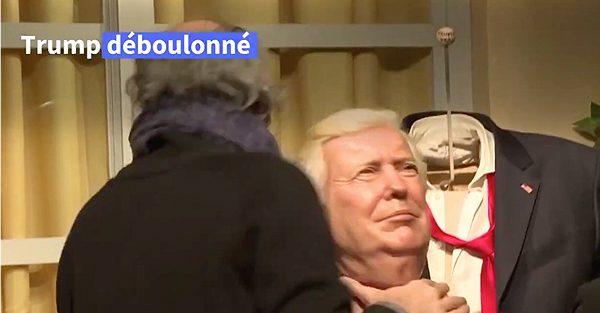 Le musée Grévin de Paris se débarrasse de la statue de Trump