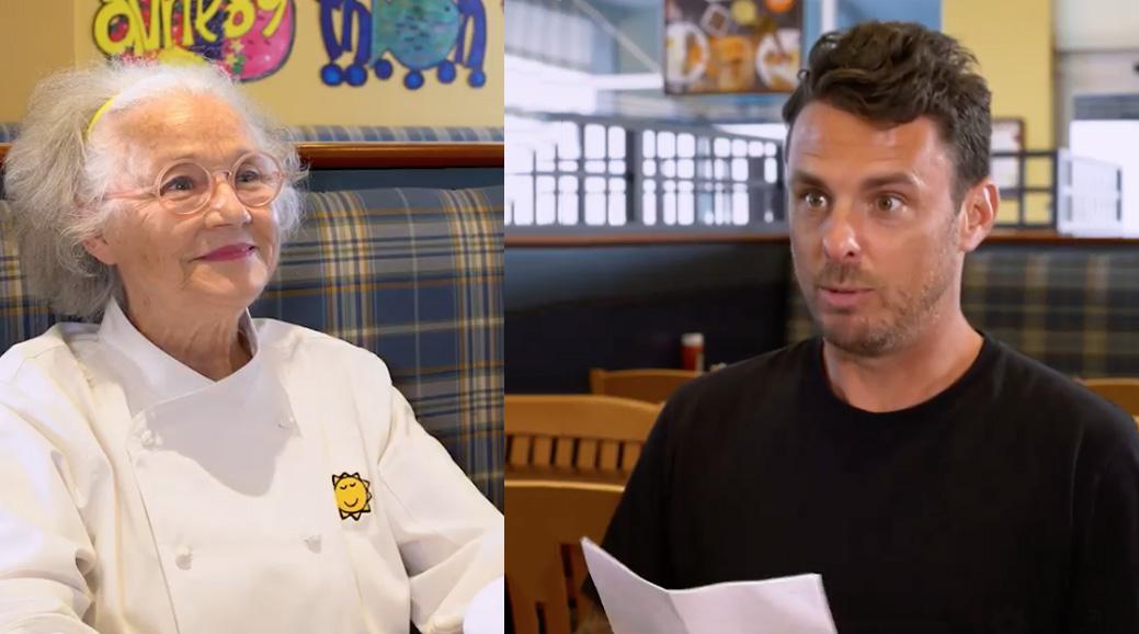Philippe Bond a décidé de donner son CV à madame Cora pour travailler dans ses restaurants