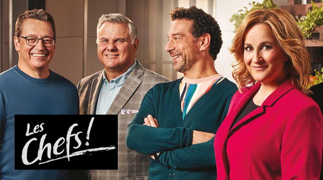 L'émission Les Chefs sera de retour avec plusieurs nouveautés