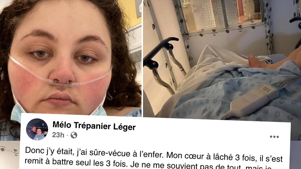 La fille de 21 ans qui était tombée dans le coma suite à la Covid donne de ses nouvelles